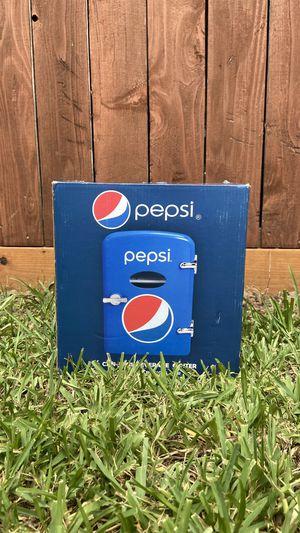 PEPSI Mini Fridge/ Beverage Cooler (6 pk) for Sale in Houston, TX