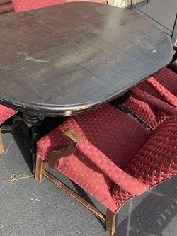 Solid Wood Dining Table And 4 Chairs for Sale in Nashville,  TN