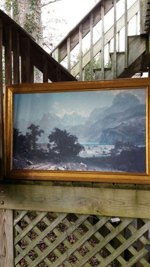 "Authentic ""Lake Lucerne"" Albert Bierstadt (1858) for Sale in Fairfax, VA"