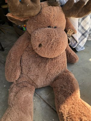 Giant Moose Stuffed Animal for Sale in Vacaville, CA