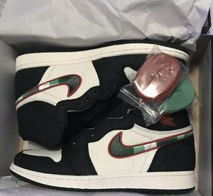 Nike Air Jordan 1 Retro High OG A Star Is Born Sports Illustrated Dead Stock -Bucks Colors Size 11 for Sale in Princeton, NJ