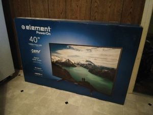"""Brand New Unopened Element 40"""" LED TV for Sale in Marion, OH"""