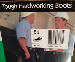 Steel Toe Work Boots, mens 8.5 for Sale in Yucca Valley, CA