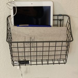 Wall Mounted Basket for Sale in Los Angeles, CA