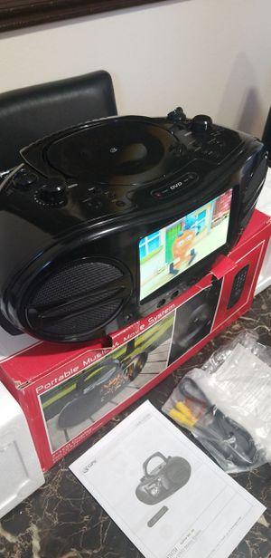 portable music dvd player am FM radio for Sale in Concord, CA