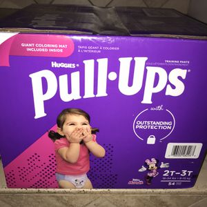 New Box Of Huggies Pull-ups Size 2T-3T $18 Firm On Price for Sale in Glendale, AZ