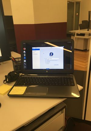 HP 15 notebook (G019wm) for Sale in San Antonio, TX