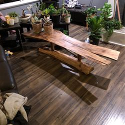 Live Edge Maple Slab Coffee Table for Sale in Everett,  WA