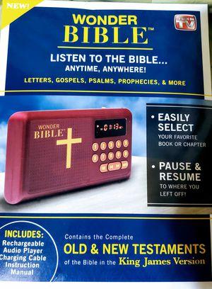 Wonder Bible Audio Book for Sale in Washington, DC