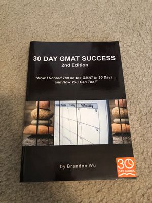 GMAT Study Guide for Sale in Santee, CA