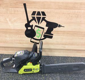 """Ryobi RY3716 16"""" 2 Cycle 38cc Gas Powered Chainsaw w/ Case for Sale in Lynn, MA"""