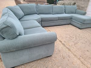 ❄ 🖤 4-Piece Blue/Teal Sectional for Sale in Layton, UT