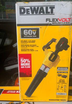 60volt lithium ion max brushless motor Blower Dewalt for Sale in Sandy Springs, GA