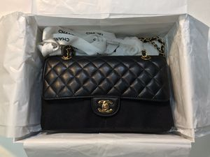 Chanel medium black caviar leather bag gold for Sale in Beverly Hills, CA
