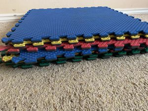 Foam mat 8 pieces for Sale in Irving, TX