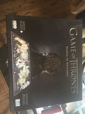 Game of Thrones puzzle for Sale in Chicago, IL