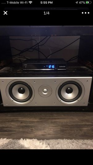 Polk Audio (2) 5 1/2 and tweeter center speaker for Sale in Tampa, FL