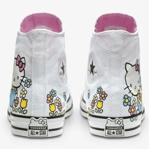 NEW CONVERSE ALL STAR HELLO KITTY FLOWER for Sale in San Francisco, CA