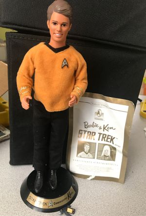 Antique Star Trek Barbie and ken for Sale in Wimauma, FL