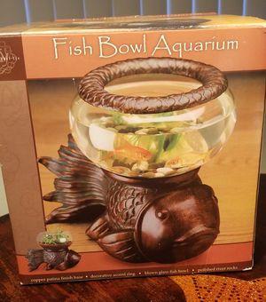 Fish Aquarium Bowl With Box for Sale in Riverside, CA