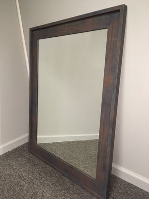 Industrial Rust Wall Mirror for Sale in St. Louis, MO