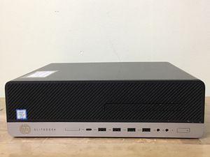 HP Elitedesk 800 G3 Core i5 Corei5 7th gen 8GB RAM 250GB M.2 SSD 500GB HDD Windows 10 dual display desktop computer for Sale in Pembroke Pines, FL