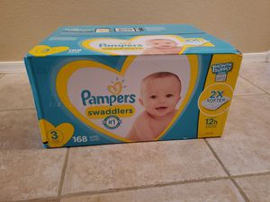 Pamper Swaddlers Size 3 for Sale in Mesa, AZ