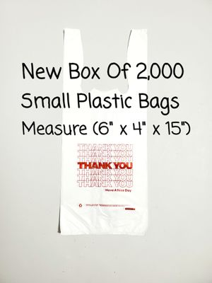 2,000 New Small Plastic Bags for Sale in Bunker Hill, WV