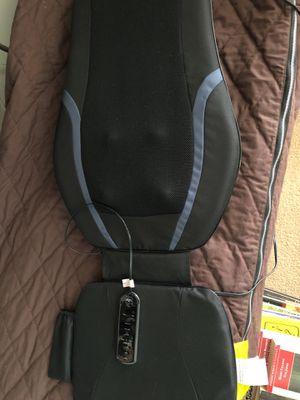 Shiatsu back massager Sharper Image for Sale in Manassas, VA