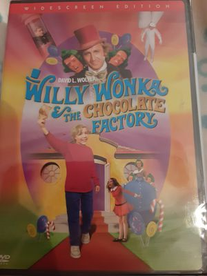 WILLY WONKA & THE CHOCOLATE FACTORY (DVD) NEW for Sale in Lewisville, TX