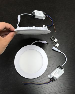 "$55 NEW (set of 10pcs) Round 5"" LED Recessed Ceiling Light 9W Lighting Fixture Lamp for Sale in Pico Rivera, CA"