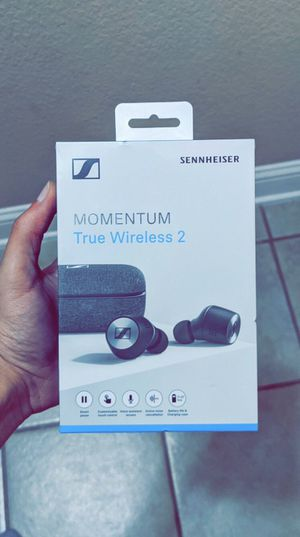 Sennheiser - MOMENTUM True Wireless 2 Noise Cancelling Earbud Headphones, Brand New in Box for Sale in Arlington, TX