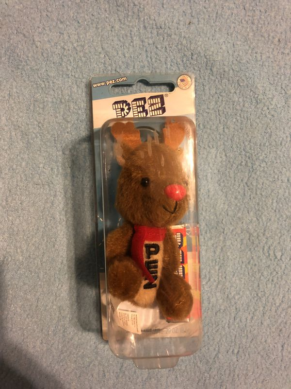 PEZ Winter Plush Vintage Collectable Toy