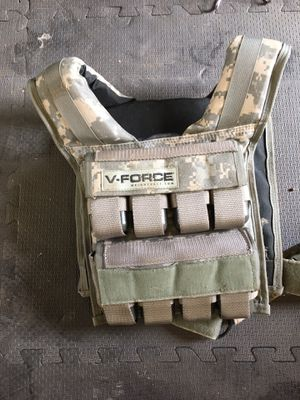 V-Force weighted vest for Sale in Alpine, CA