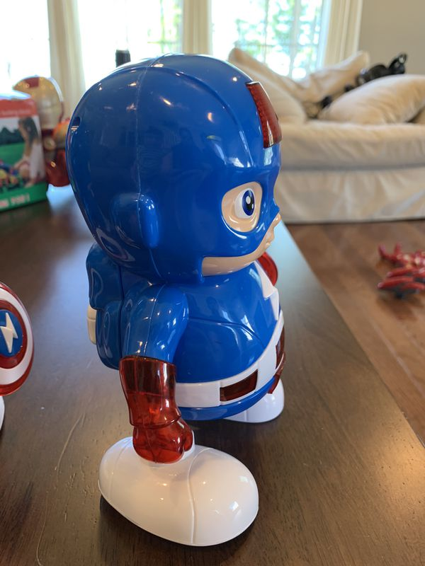Musical Captain America in good condition!