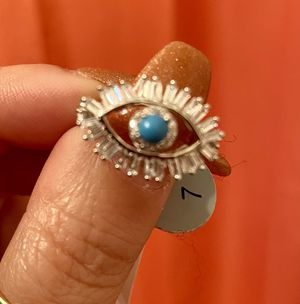 Eye ring Sterling Silver for Sale in Tampa, FL