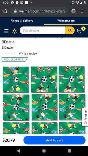 Scramble Squares Puzzle: Soccer, Age: 12+ By BDazzle for Sale in Gainesville, GA