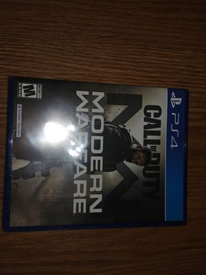 Call Of Duty Modern Warfare PS4. New Unwrapped for Sale in Fresno, CA
