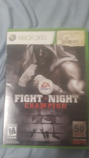 Fight Night Champion Xbox 360 game for Sale in Boyds, MD