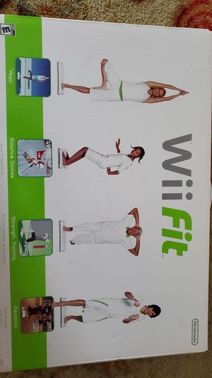 Wii Fit Game with Balance Board for Sale in Princeton, NJ