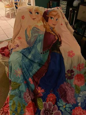 Frozen bed set for Sale in Tampa, FL