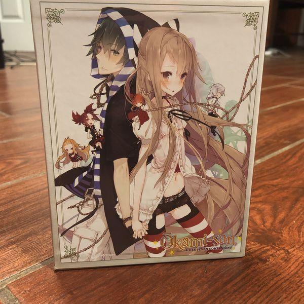 Okami-san and Her Seven Companions Bluray Boxset
