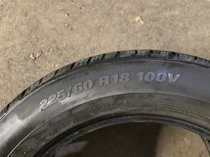 225/60 R18 set of 4 tires for Sale in Hoffman Estates, IL