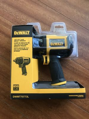DEWALT DWMT70773L 1/2 inch SQUARE DRIVE IMPACT WRENCH for Sale in San Diego, CA
