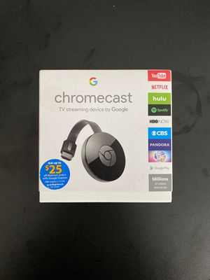 Chromecast TV streaming device by Google for Sale in Clackamas, OR