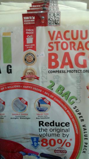 Vacuum Storage Bags for Sale in Pompano Beach, FL