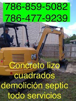 Excavadora Mini Excavator Bobcat And Volteo.)✅(((.demolition Servi ce.)))✅✅✅.!!!. for Sale in Miami,  FL