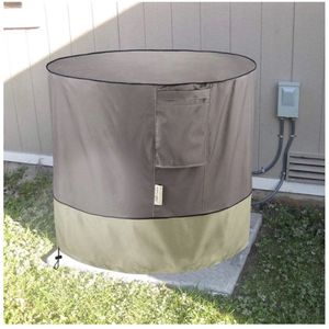 Brand-new!!! Air Conditioner Cover for Outside Units - AC Covers Fits up to 34 x 30 inches (Round) for Sale in Doral, FL