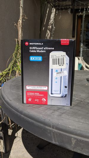 Motorola Cable modem Surfboard SB 6141 for Sale in Arcadia, CA