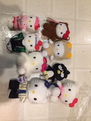 Authentic Hello kitty plushes for sale for Sale in Redwood City, CA